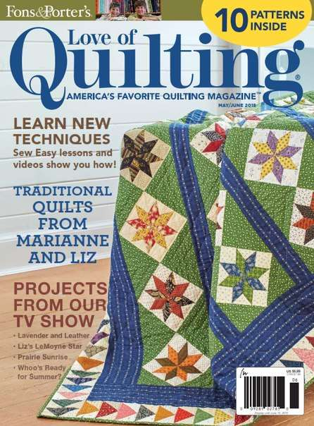 Love of Quilting – May-June 2015