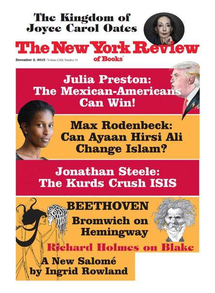 The New York Review of Books – December 3 2015