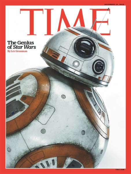 Time Magazine – December 14 2015