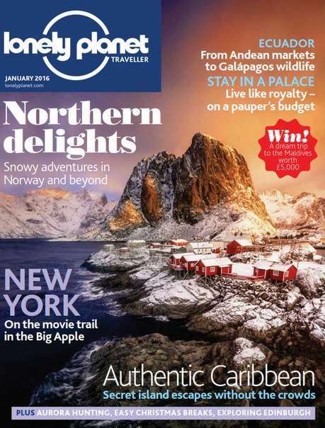 Lonely Planet Traveller – January 2016 UK