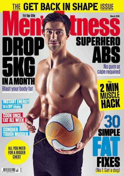 Men 39 s Fitness – March 2016 UK