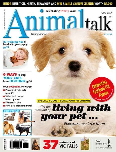 Animal Talk – July 2015