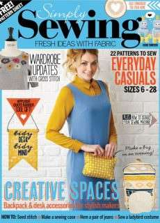 Simply Sewing – Issue 13  2016