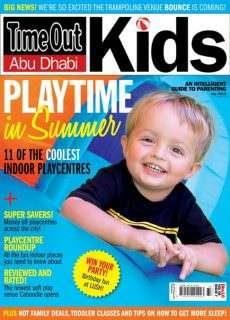 Time Out Abu Dhabi Kids – July 2015