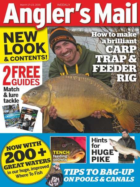 Anglers Mail UK – 17 March 2015