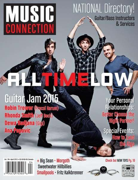 Music Connection – April 2015