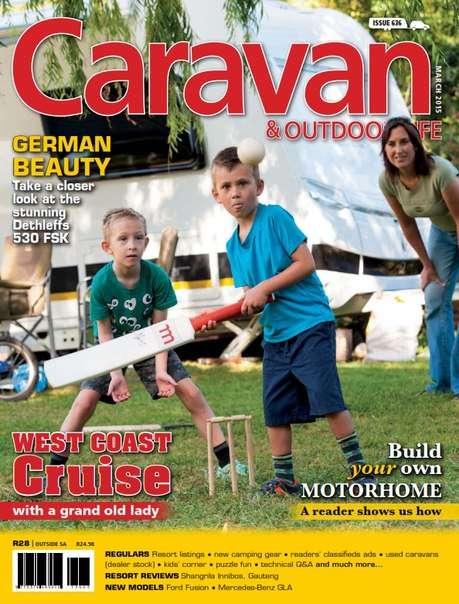Caravan & Outdoor Life – March 2015