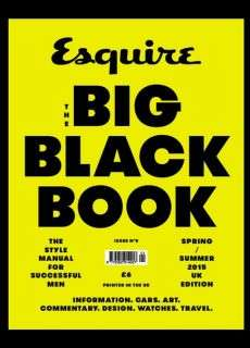 Esquire The Big Black Book – Spring – Summer 2015
