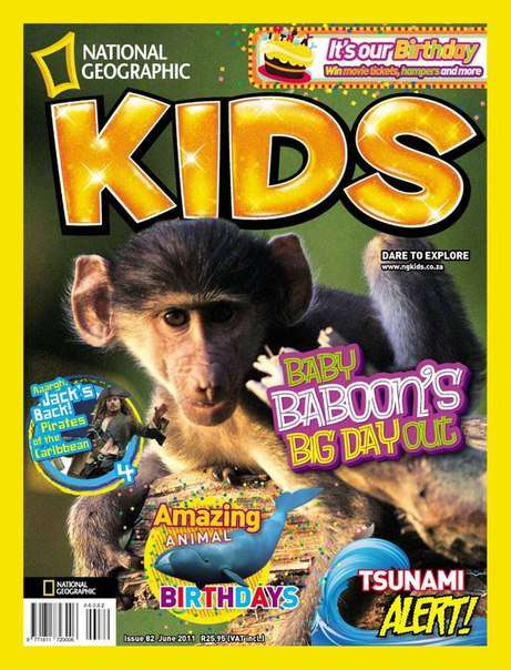 National Geographic KIDS South Africa – June 2011