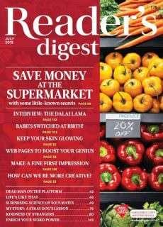 Readers Digest – July 2015