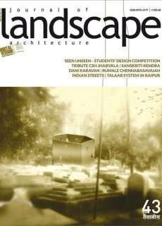 Journal of Landscape Architecture Issue 43, 2015