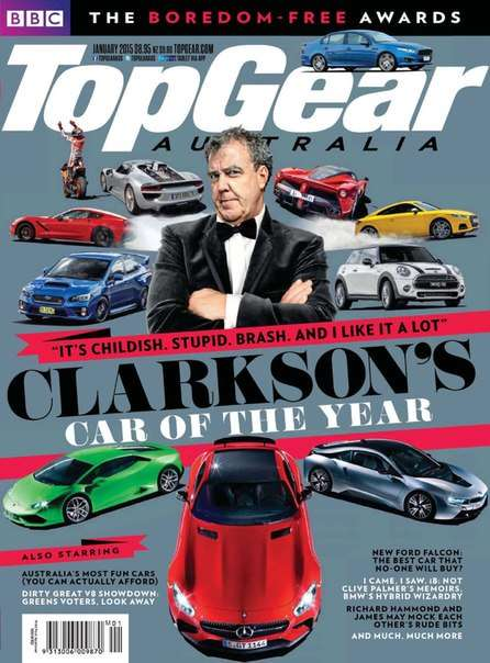 BBC Top Gear – January 2015 AU – BBC Top Gear