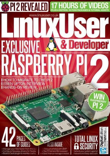 Linux User & Developer – Issue 149, 2015