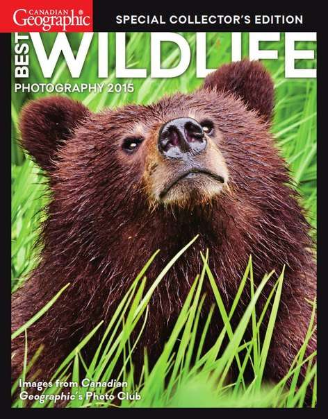 Canadian Geographic Special Collector's Edition – Best Wildlife Photography 2015
