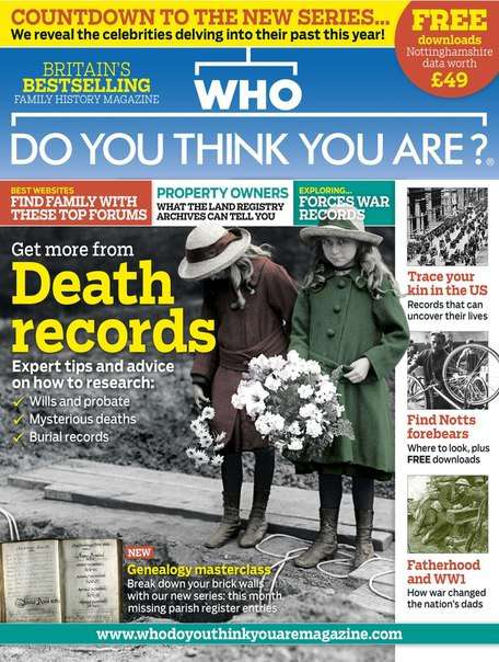 Who Do You Think You Are – August 2015