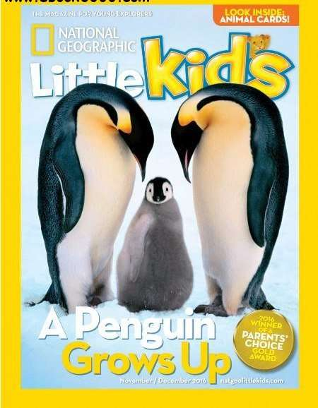 National Geographic Little Kids – November-December 2016