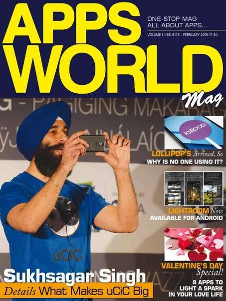Apps World Mag Magazine February 2015