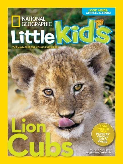 National Geographic Little Kids – March-April 2015