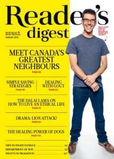 Readers Digest Canada – August 2015