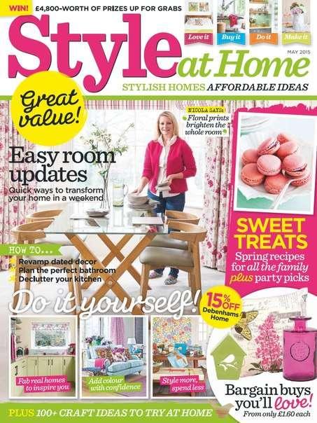 Style At Home UK – May  2015