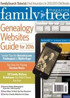 Family Tree USA – March-April 2016