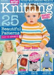 Knitting & Crochet from Woman s Weekly – March 2016