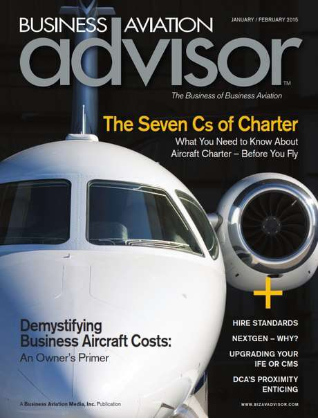 Business Aviation Advisor – January/February 2015