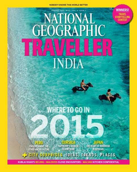 National Geographic Traveller India – October 2015