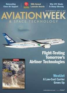 Aviation Week & Space Technology from 30 March from 12 April 2015