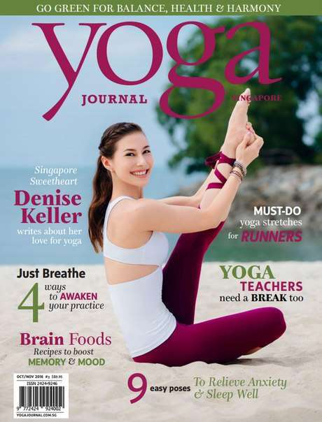 Yoga Journal Singapore – October – November 2016