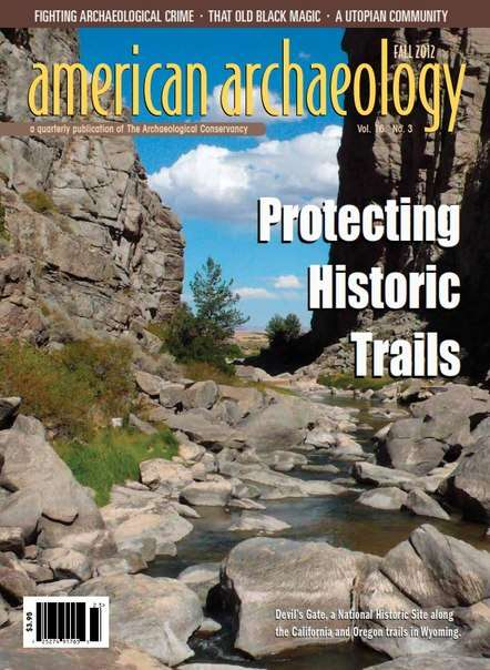 american archaeology – Fall 2012