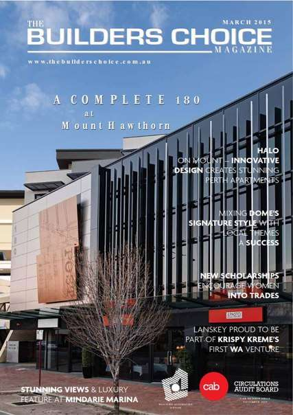The Builders Choice Magazine – March 2015