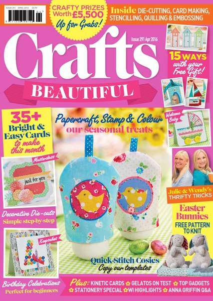 Crafts Beautiful April 2016