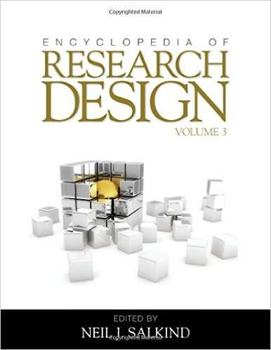 Encyclopedia of Research Design, 3 Volumes combined by Neil J. Salkind