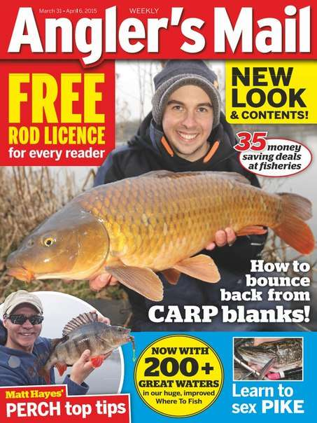 Angler's Mail UK – 31 March 2015