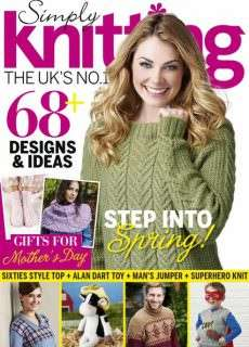 Simply Knitting – March 2016