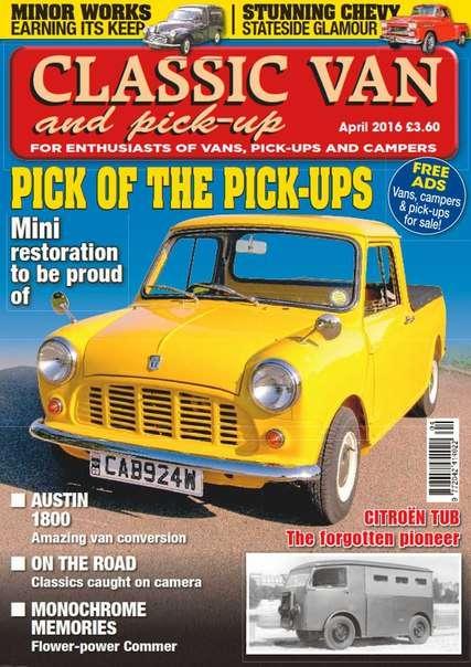 Classic Van  Pick-up – April 2016