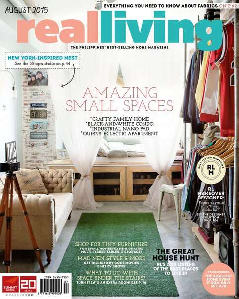 Real Living – August 2015 PH