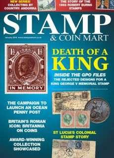 Stamp & Coin Mart – January 2016