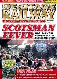 Heritage Railway – 10 March 2016