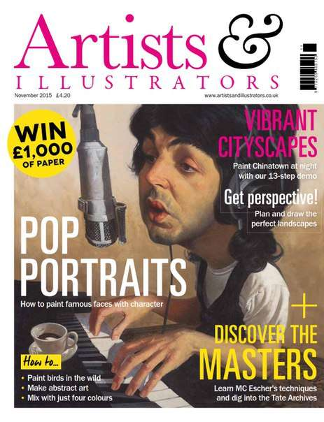 Artists & Illustrators – November 2015