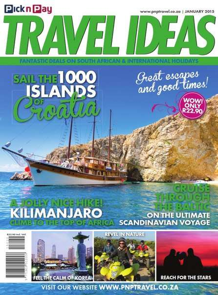 PICK N Pay Travel Ideas – January 2015