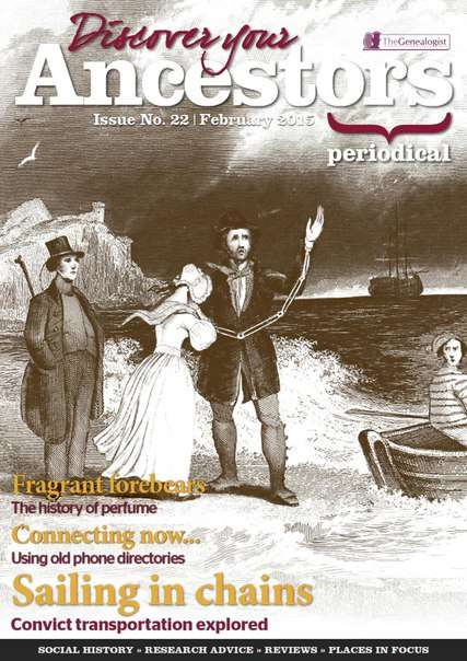 Discover Your Ancestor, Issue 22 – February 2015