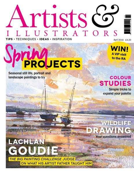Artists & Illustrators – April 2016