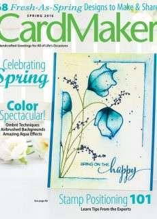 Card Maker 2016 Spring