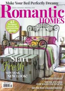 Romantic Homes – January 2016
