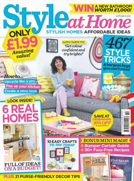 Style At Home – October 2015 UK