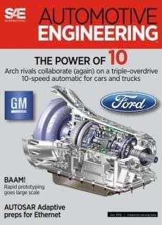 Automotive Engineering – July 2016