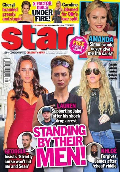 Star Magazine UK  12 October 2015