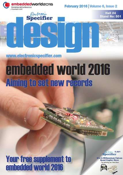 Electronic Specifier Design – February 2016
